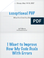 php|tek - Exceptional PHP