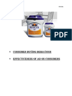 Consumer Buying Behaviour - FEVICOL