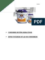 Consumer Buying Behaviour - FEVICOL