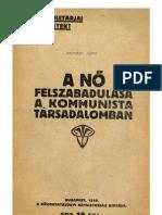 A nő felszabadulása a kommunista társadalomban