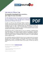 Michelin Power Cup - El neumático de circuito homologado para carretera, ya en tu tienda de neumaticos online Neumatop