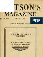 5 Rich Jews Indict State Watsons Magazine October 1915