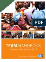 SIFE Team Handbook%E2%80%94Program YE 2011(English)