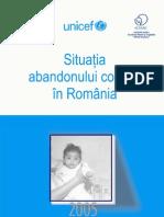 Situatia Abandonului Copiilor in Romania