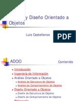 Análisis y Diseño Orientado a Objetos