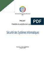 Securite Des Systemes Informatiques