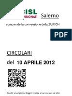 Circolari Del 10 Aprile 2012