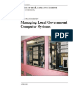 Government Computer Systems