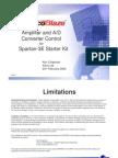 s3esk Picoblaze Amplifier and Adc Control