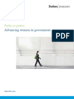 Advancing Women in Government