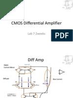 CMOS Differential Amplifier