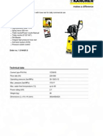 Karcher HD 613 Plus Electric and Accessories