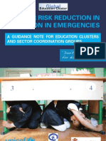 Disaster Risk Reduction in Education in Emergencies....UN Education Cluster