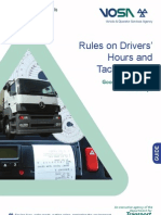 Rules on Drivers Hours and Tachographs - Goods Vehicles in GB and Europe