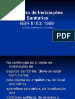 Desenho de Instalações sanitárias 2