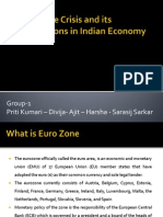 Euro Zone Crisis and Its Implications in Indian