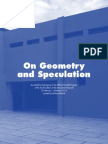 On Geometry and Speculation