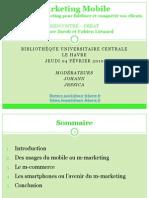 Marketing Mobile Conf BU