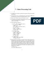Computer Organization Hamacher Instructor Manual Solution - Chapter 7