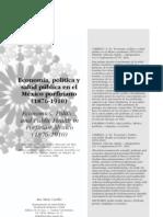 Economia Politica y Salud Publica en Porfiriato