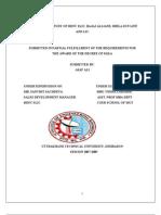 11845662 Comparative Study of Hdfc Slic Bajaj Allianz Birla Sun Life and Lic