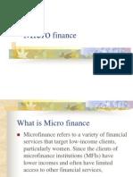 Micro Finance Unit -1