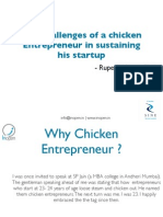 Struggle of a Chicken Entrepreneur
