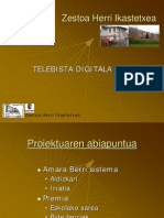 TELEBISTA DIGITALA ZESTOAN