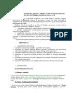 Literatura Romana, Teoria Literaturii Si Folclor_def & Grad II