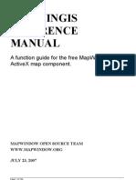 MapWinGIS Reference Manual