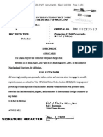 Eric Toth Indictment
