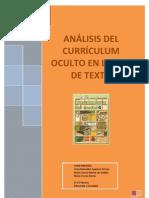 ANÁLISIS DE CURRÍCULUM OCULTO DE LIBROS DE TEXTO