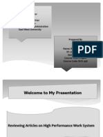Presentation on HPWS