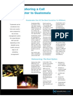 Offshoring to Guatemala