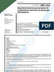 NBR 14544 - Requisitos Basicos Para Protecao de Componentes Sensiveis as Descargas Eletrostaticas