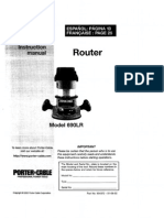 Porter-Cable Router 690LR