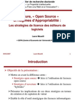 Opensource Licences 090307