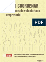 Como Coordenar Programas de Voluntariado Empresarial