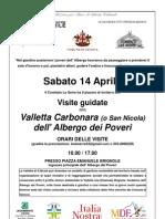 Volantino Settimana Cultura MiBAC 14apr2012