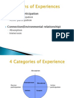 Dimensions of Experiences