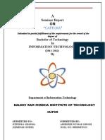 Seminar Report of Captcha