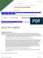 BLUE IVY CARTER Trademark Application