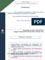 2. CICR Lima - pm médica, p humanit, embl EC 2010