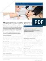 Mergers and Acquisitions Process Overview