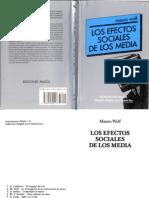 Wolf Mauro - Los Efectos Sociales de Los Medios