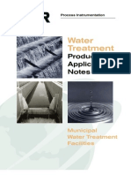 Water Treatment Product App Notes 891