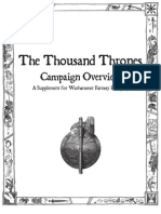 Thousand Thrones Overview Print