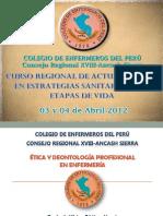 Etica Dentologia Cr Xviii As