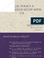 Fiscal Policy-A Comparative Study With u