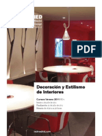 V Decoracion Estilismo Interiores IEDMadrid